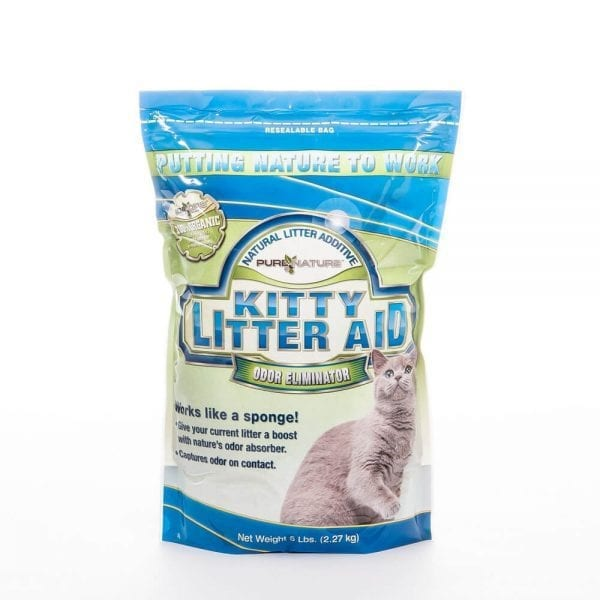 Kitty Litter Aid Deodorizer with Zeolite